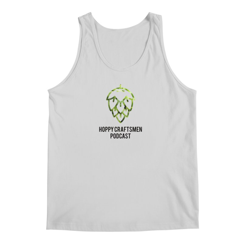Hops on Hops Black Version Men's Regular Tank by Hoppy Craftsmen's Swag Portal