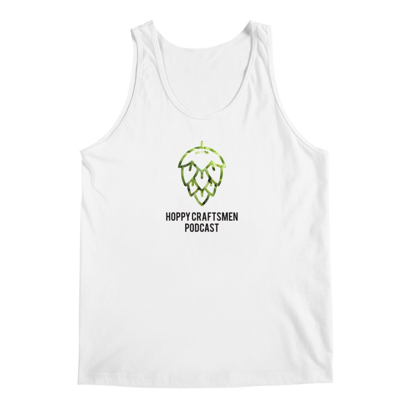 Hops on Hops Black Version Men's Tank by Hoppy Craftsmen's Swag Portal