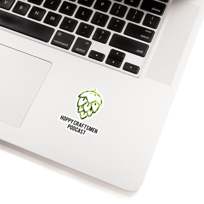 Hops on Hops Black Version Accessories Sticker by Hoppy Craftsmen's Swag Portal