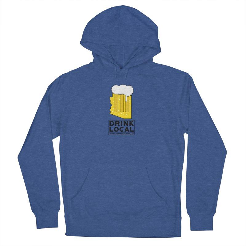 Drink Local IPA Men's Pullover Hoody by Hoppy Craftsmen's Swag Portal