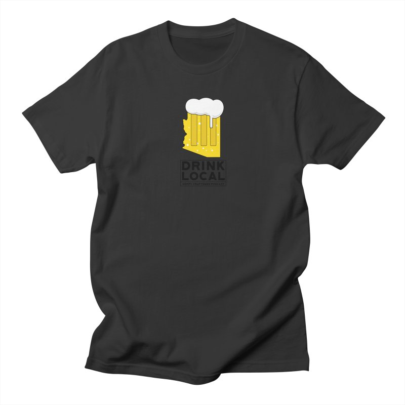 Drink Local IPA Men's T-Shirt by Hoppy Craftsmen's Swag Portal