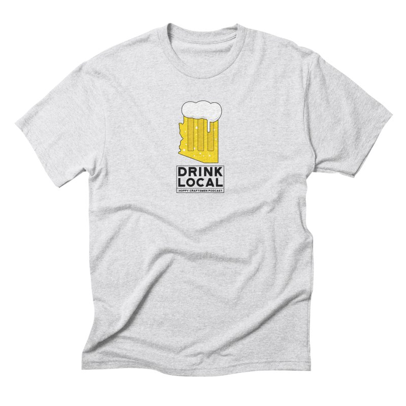 Drink Local IPA Men's Triblend T-Shirt by Hoppy Craftsmen's Swag Portal