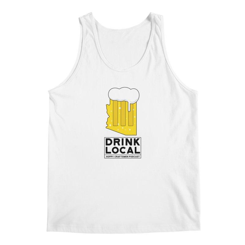 Drink Local IPA Men's Regular Tank by Hoppy Craftsmen's Swag Portal