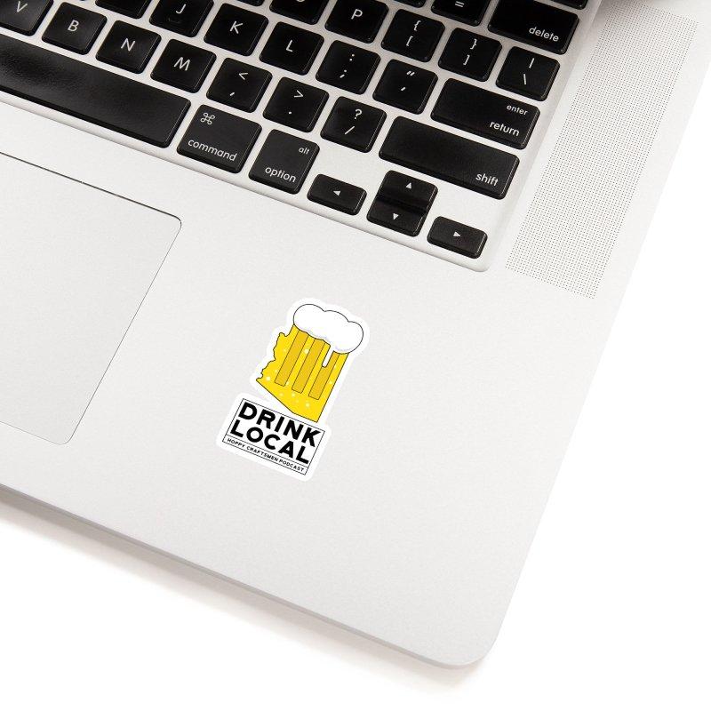 Drink Local IPA Accessories Sticker by Hoppy Craftsmen's Swag Portal