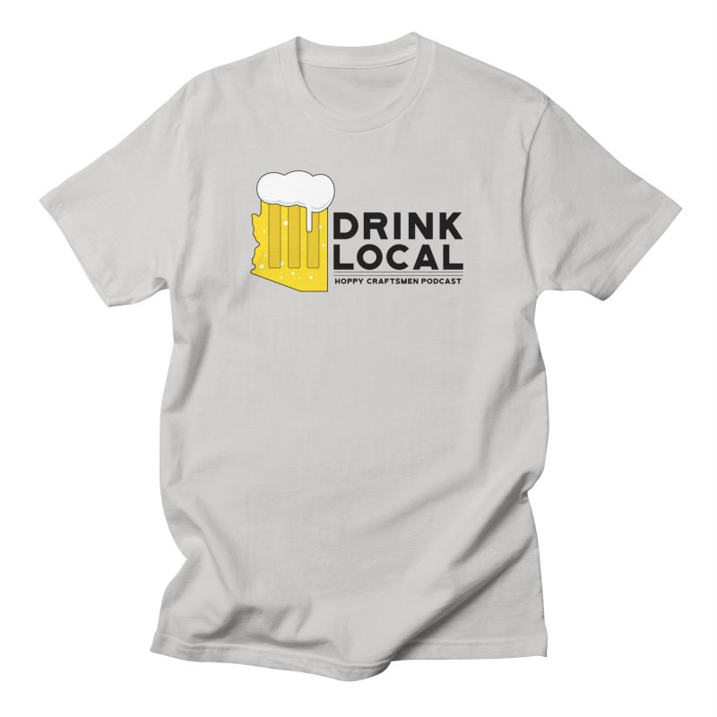 Drink Local IPA Span Women's Unisex T-Shirt by Hoppy Craftsmen's Swag Portal