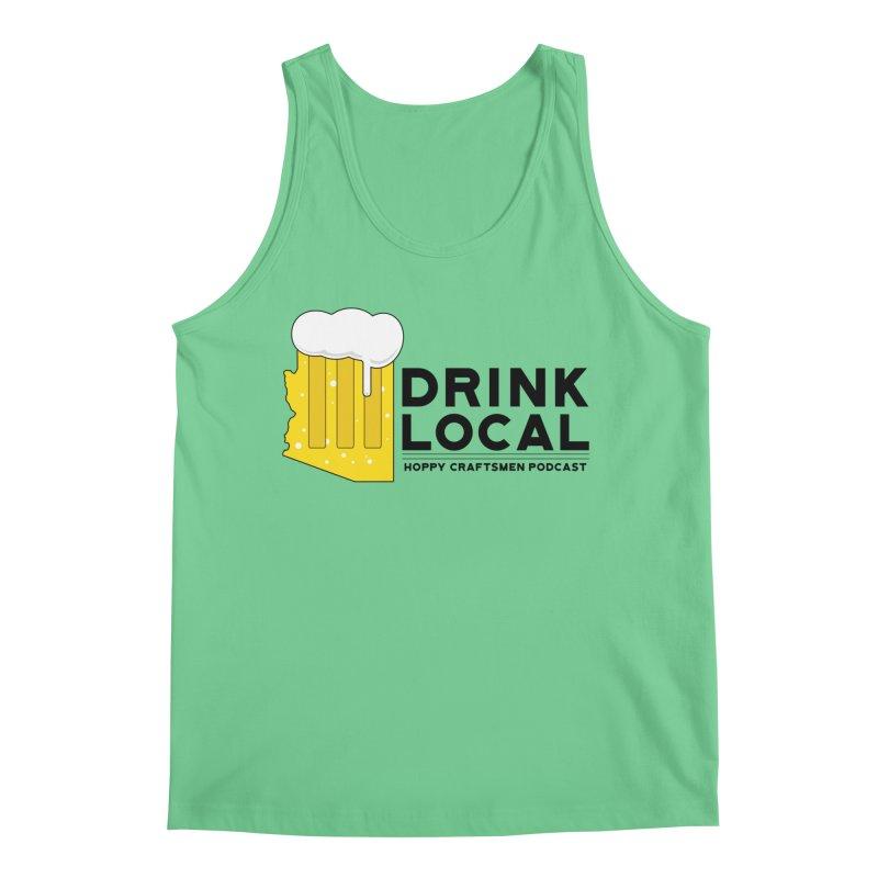 Drink Local IPA Span Men's Tank by Hoppy Craftsmen's Swag Portal