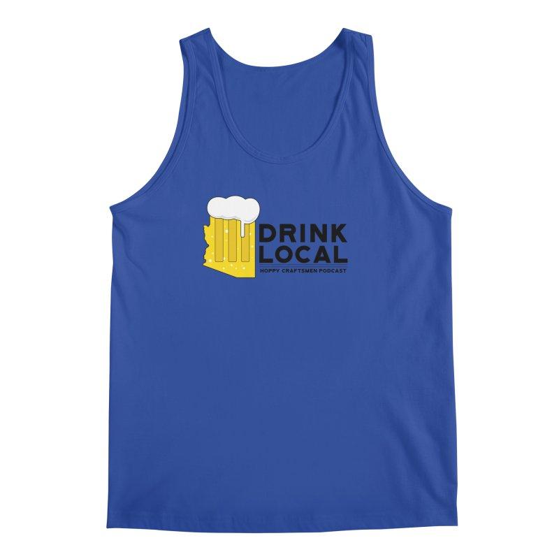 Drink Local IPA Span Men's Regular Tank by Hoppy Craftsmen's Swag Portal