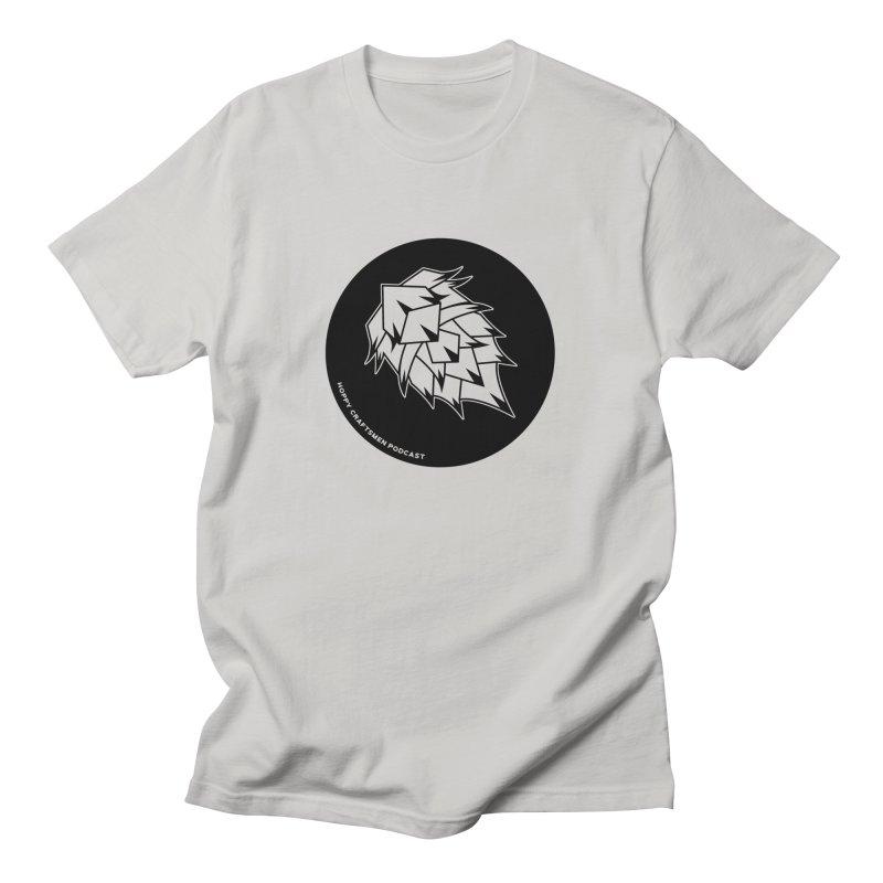 Hops Circles Men's T-Shirt by Hoppy Craftsmen's Swag Portal