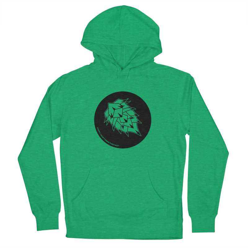 Hops Circles Men's French Terry Pullover Hoody by Hoppy Craftsmen's Swag Portal