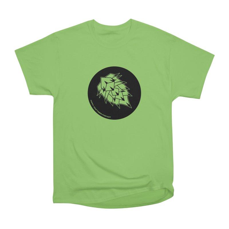 Hops Circles Men's Heavyweight T-Shirt by Hoppy Craftsmen's Swag Portal