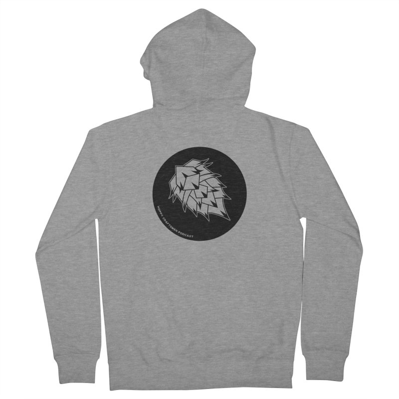 Hops Circles Women's French Terry Zip-Up Hoody by Hoppy Craftsmen's Swag Portal