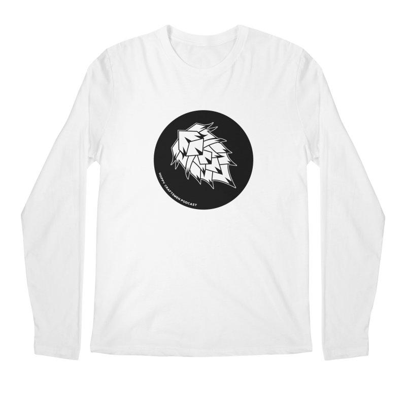 Hops Circles Men's Regular Longsleeve T-Shirt by Hoppy Craftsmen's Swag Portal