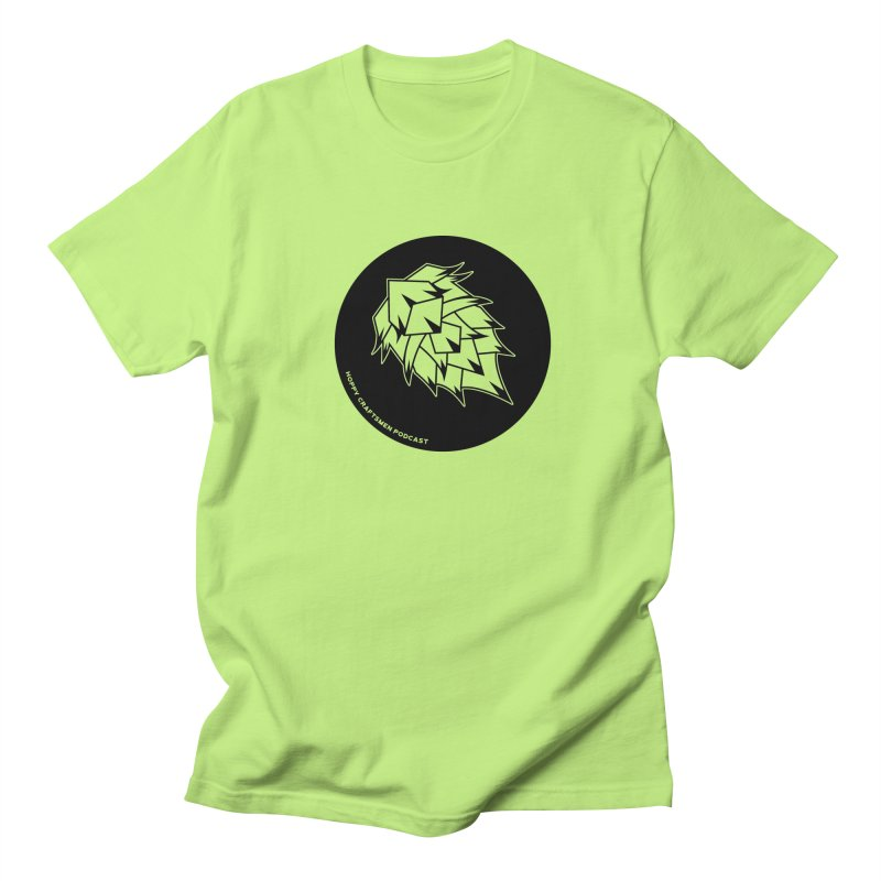 Hops Circles Women's Regular Unisex T-Shirt by Hoppy Craftsmen's Swag Portal