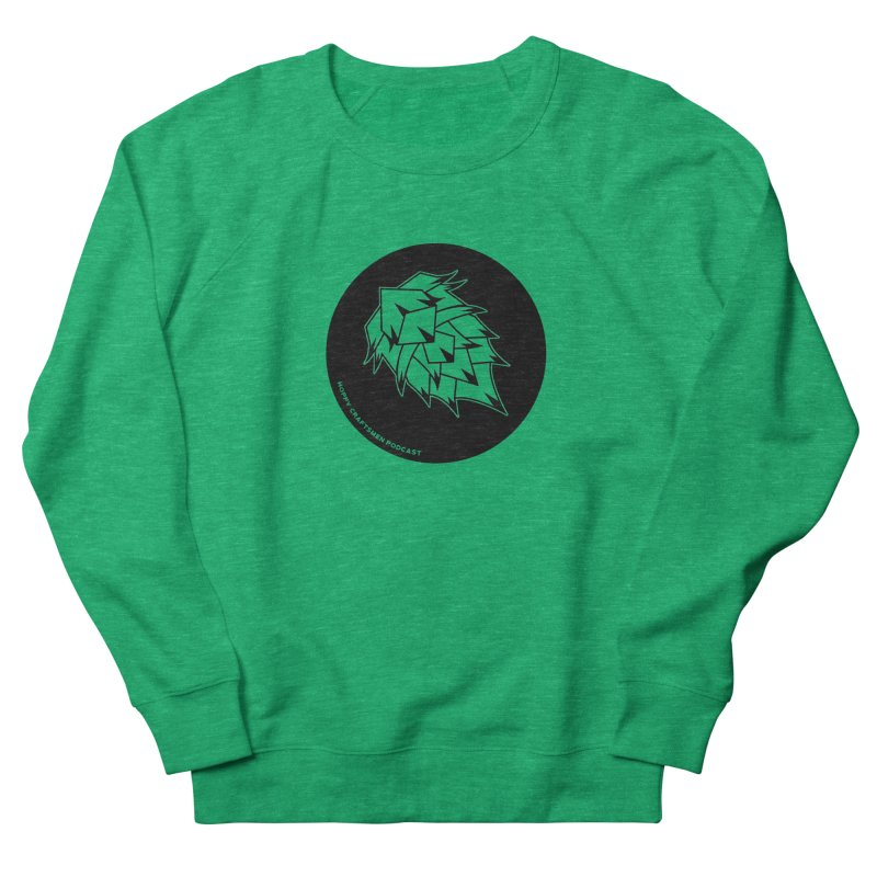 Hops Circles Men's French Terry Sweatshirt by Hoppy Craftsmen's Swag Portal