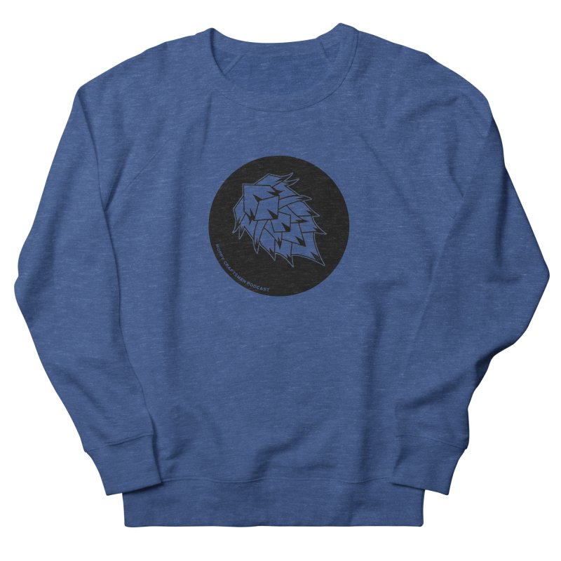 Hops Circles Men's Sweatshirt by Hoppy Craftsmen's Swag Portal