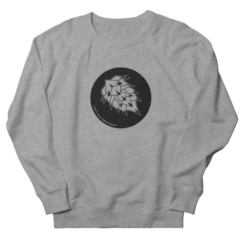 Hops Circles Men's French Terry Sweatshirt by Hoppy Craftsmen's Swag Portal