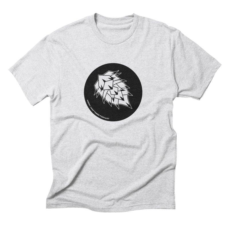 Hops Circles Men's Triblend T-Shirt by Hoppy Craftsmen's Swag Portal