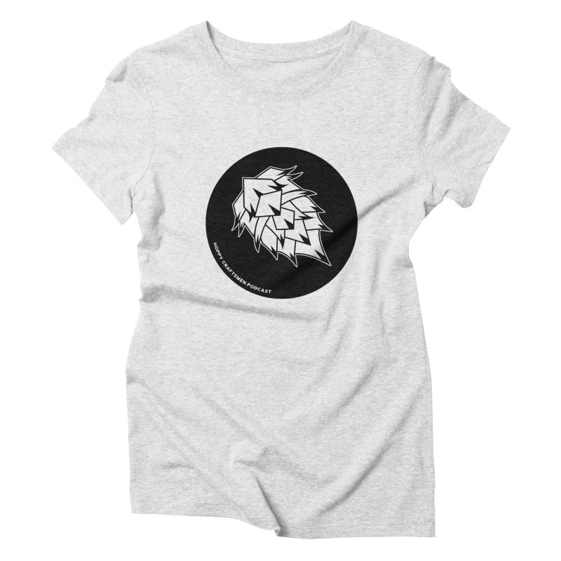 Hops Circles Women's Triblend T-Shirt by Hoppy Craftsmen's Swag Portal