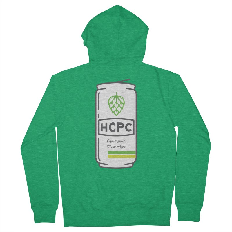 Dope Can Women's Zip-Up Hoody by Hoppy Craftsmen's Swag Portal