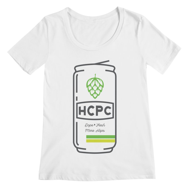 Dope Can Women's Regular Scoop Neck by Hoppy Craftsmen's Swag Portal