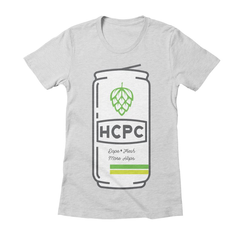 Dope Can Women's Fitted T-Shirt by Hoppy Craftsmen's Swag Portal