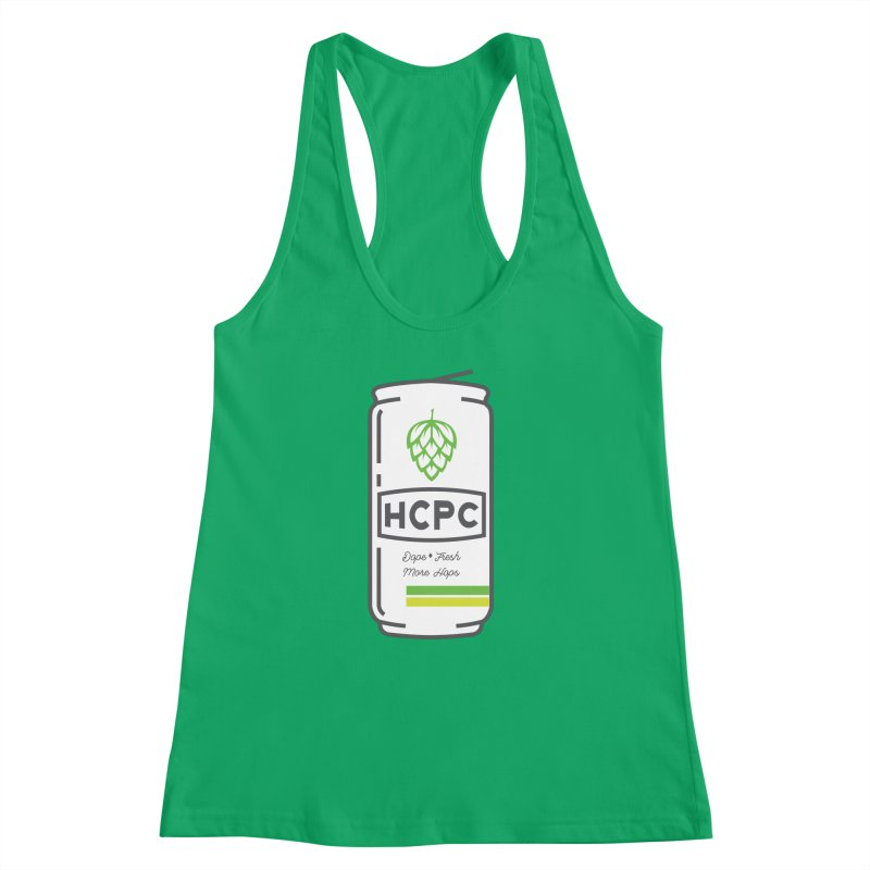 Dope Can Women's Racerback Tank by Hoppy Craftsmen's Swag Portal