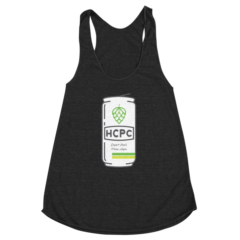 Dope Can Women's Racerback Triblend Tank by Hoppy Craftsmen's Swag Portal