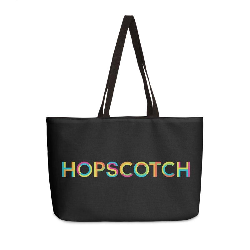 Hopscotch Logo Accessories Weekender Bag Bag by Hopscotch Swag Center