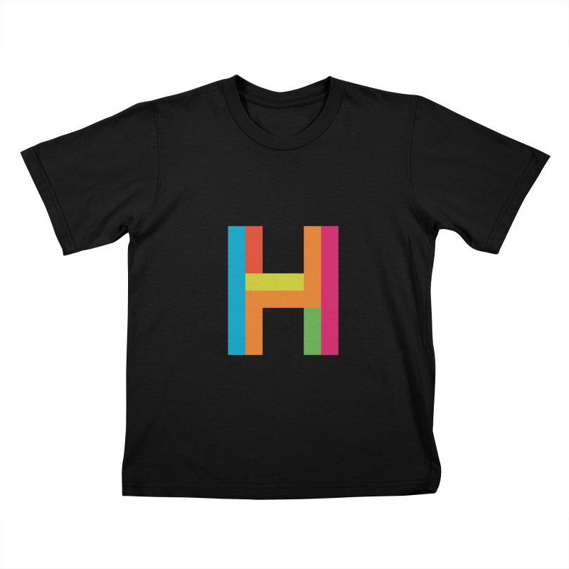 Hopscotch Logo Kids T-Shirt by Hopscotch Swag Center