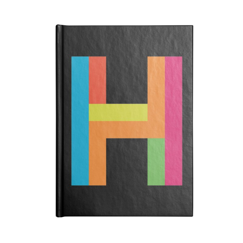 Hopscotch Logo Accessories Notebook by Hopscotch Swag Center