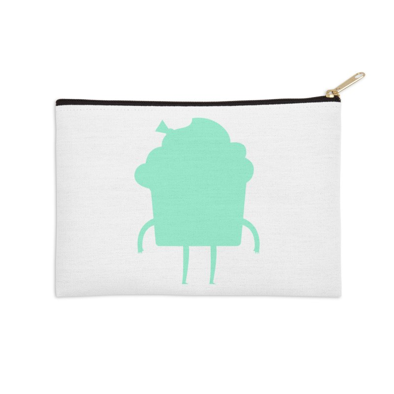 Cupcake Accessories Zip Pouch by Hopscotch Swag Center