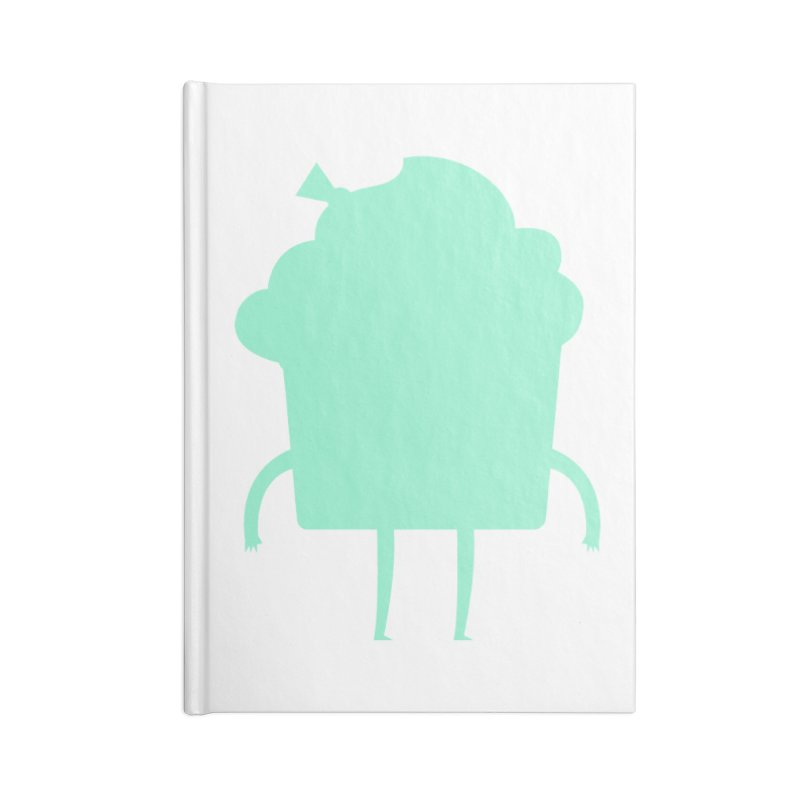 Cupcake Accessories Blank Journal Notebook by Hopscotch Swag Center