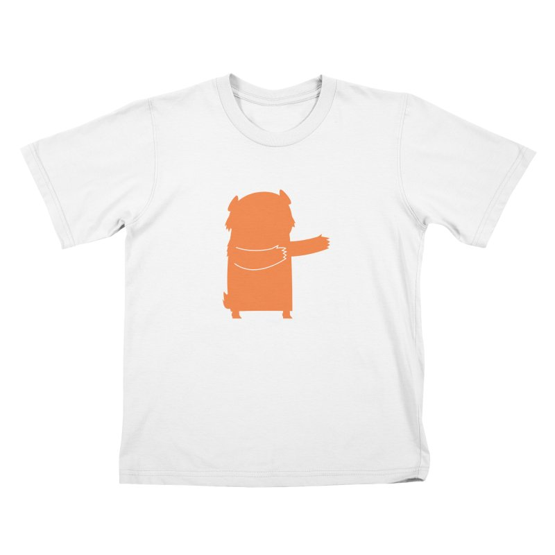 Bear in Kids T-Shirt White by Hopscotch Swag Center