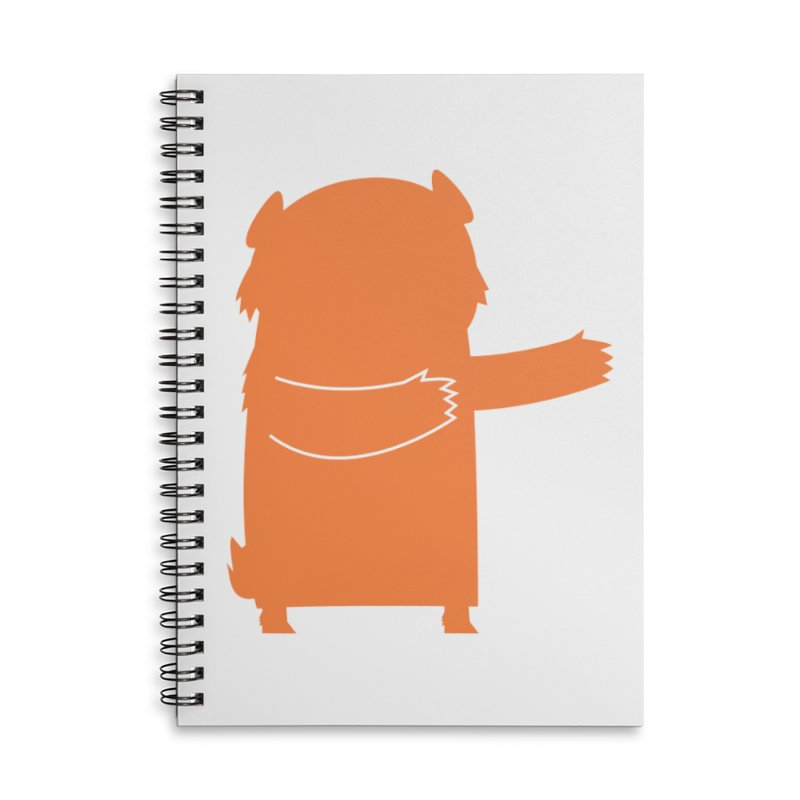 Bear Accessories Lined Spiral Notebook by Hopscotch Swag Center