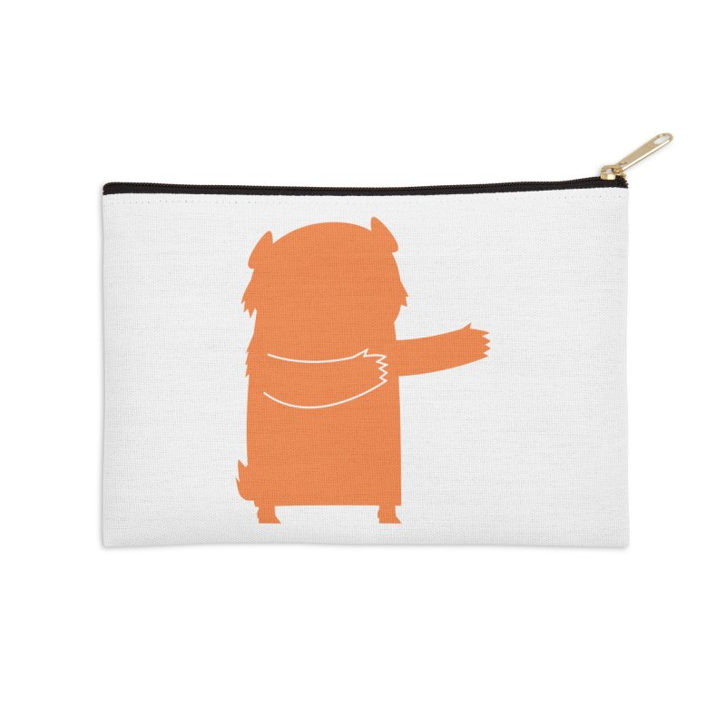 Bear Accessories Zip Pouch by Hopscotch Swag Center