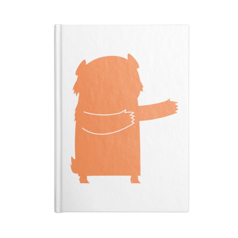 Bear Accessories Lined Journal Notebook by Hopscotch Swag Center