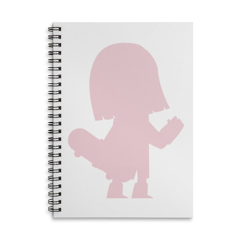 Chillana Accessories Lined Spiral Notebook by Hopscotch Swag Center