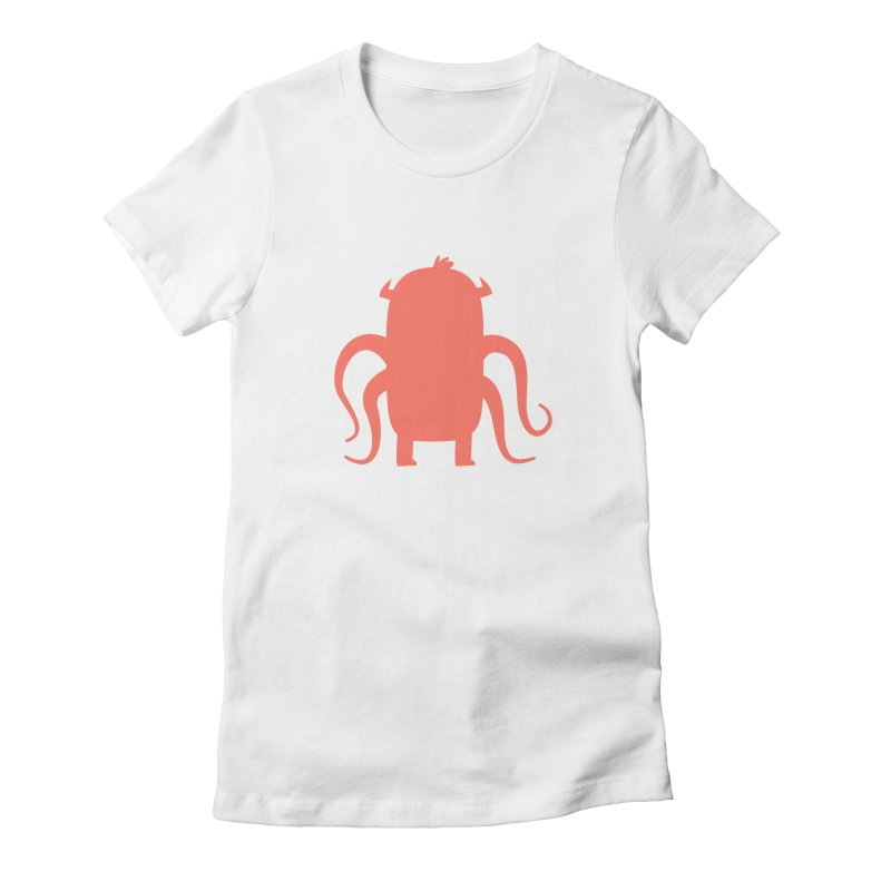 Octo Women's Fitted T-Shirt by Hopscotch Swag Center