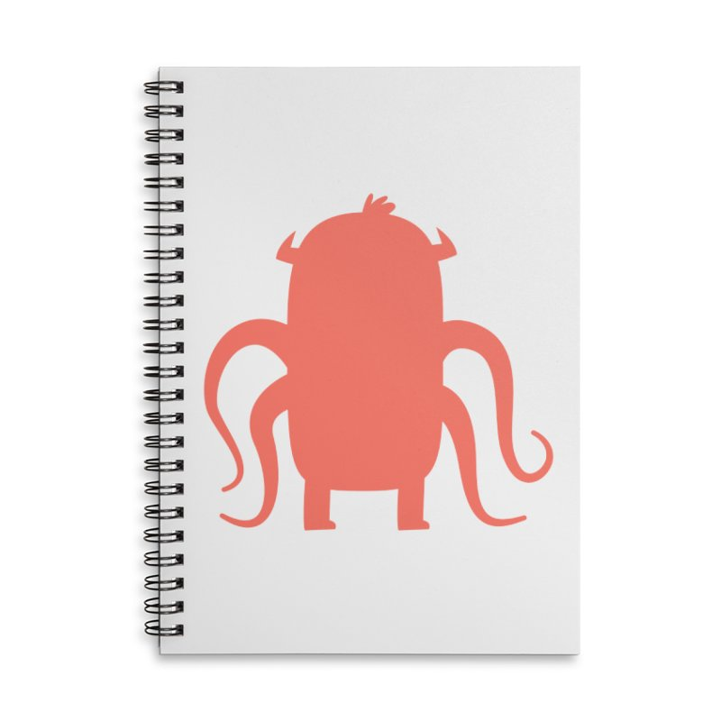 Octo Accessories Lined Spiral Notebook by Hopscotch Swag Center