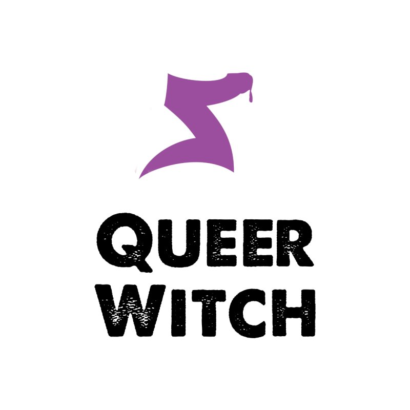 Queer Witch T-Shirt Men's V-Neck by HORNS Magazine Merch Store