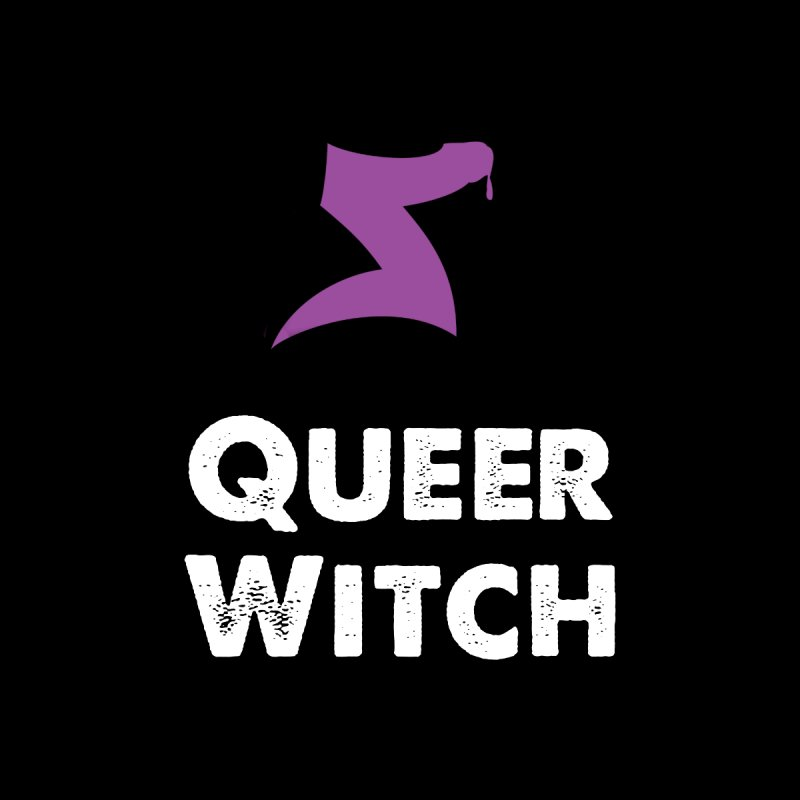 Queer Witch Dark Clothing Men's T-Shirt by HORNS Magazine Merch Store