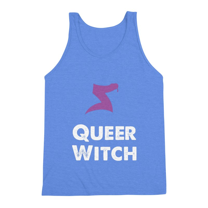 Queer Witch Dark Clothing Men's Triblend Tank by HORNS Magazine Merch Store
