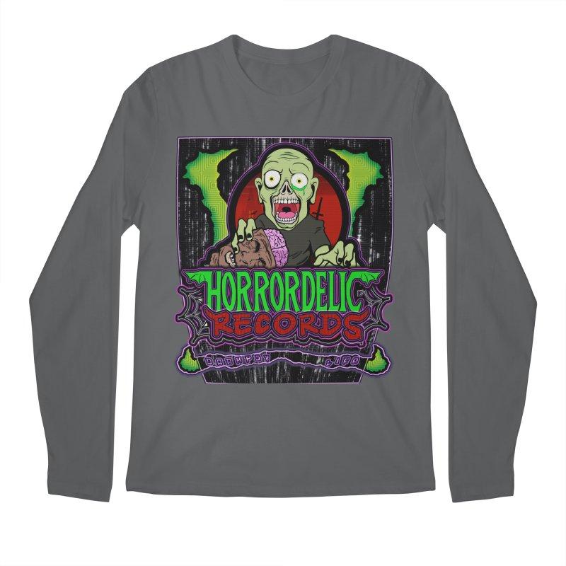 Darkpsy Life Men's Longsleeve T-Shirt by Horrordelic Darkpsy Merch