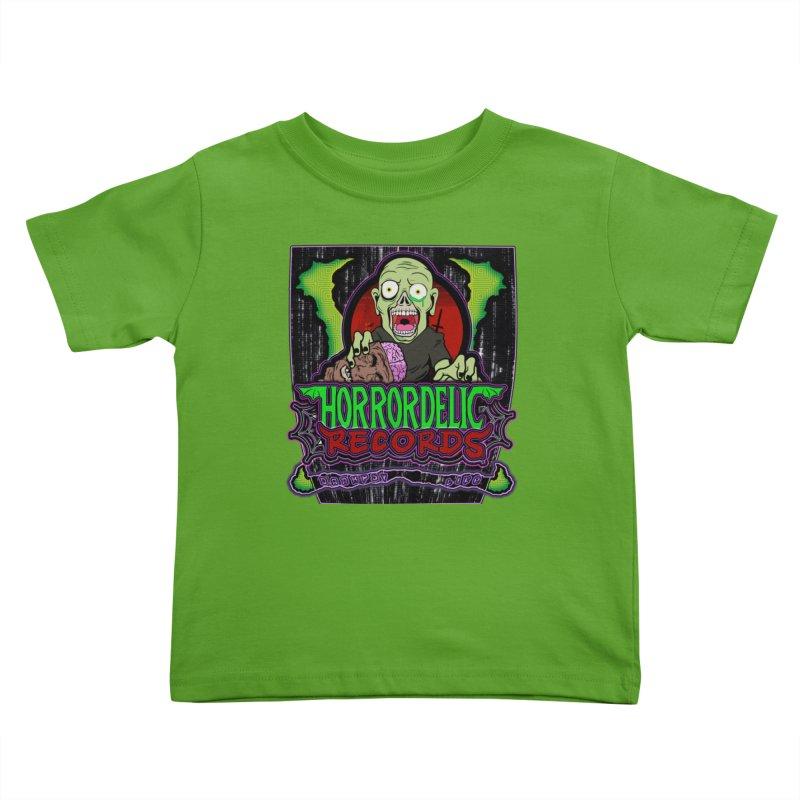 Darkpsy Life Kids Toddler T-Shirt by Horrordelic Darkpsy Merch