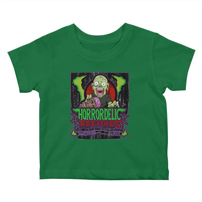 Darkpsy Life Kids Baby T-Shirt by Horrordelic Darkpsy Merch