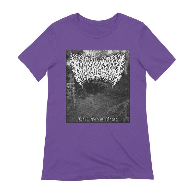 Horrordelic - Dark Forest Magic Women's Extra Soft T-Shirt by Horrordelic Darkpsy Merch