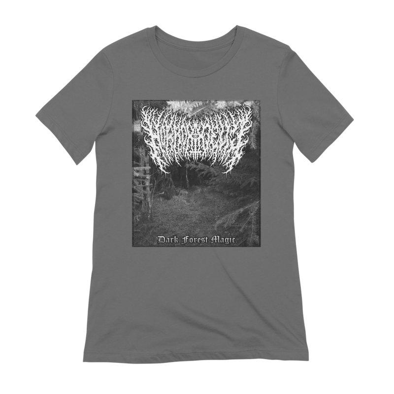 Horrordelic - Dark Forest Magic Women's T-Shirt by Horrordelic Darkpsy Merch