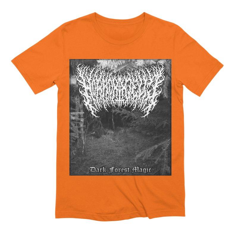 Horrordelic - Dark Forest Magic Men's Extra Soft T-Shirt by Horrordelic Darkpsy Merch