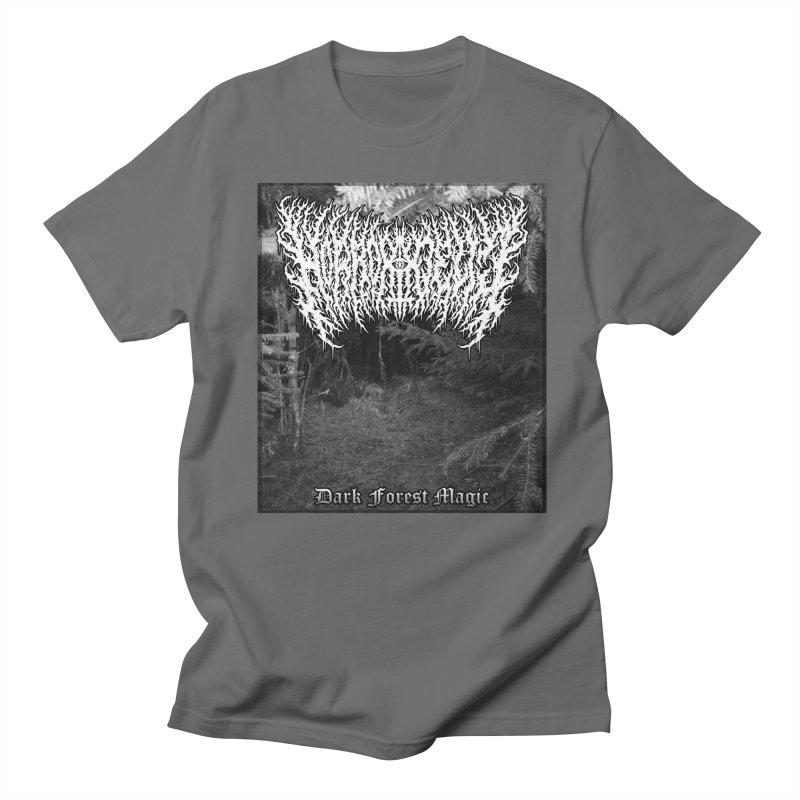 Horrordelic - Dark Forest Magic Men's T-Shirt by Horrordelic Darkpsy Merch