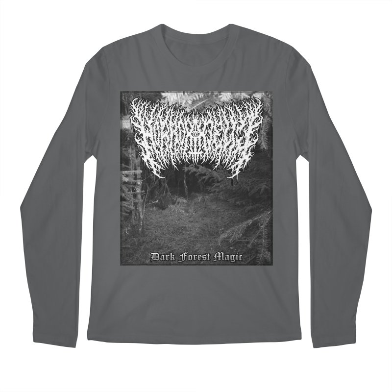 Horrordelic - Dark Forest Magic Men's Regular Longsleeve T-Shirt by Horrordelic Darkpsy Merch
